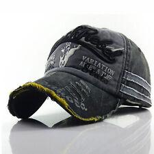 Damen Herren Retro Cap Sport Baseballkappe Baseballkappe Vintage Cap