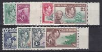 PN72) Pitcairn Is. 1940 Definitives original set of 8, fresh mint unhinged