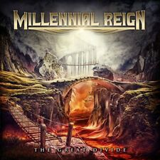 MILLENNIAL REIGN-The Great Divide CD Queensryche,Fates Warning,Lizzy Borden,Rare