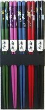 Wholesale Lot 1000 Pair Bamboo Chopsticks 5 Color Usagi Bunny S-3644x200
