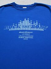 Rock The Boat 2012 festival Medium concert T-Shirt pitbull Wiz Khalifa flo rida