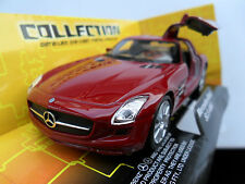 Mercedes Benz SLS AMG 6.3 Diecast VOITURE WELLY 1/38 Boxed Gullwing portes Pull BK GO