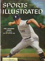 1959 Sports Illustrated May 4 - Yankees' Bob Turley
