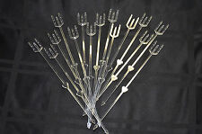 """105 Cardettes Card Holder Floral Picks Clear 9"""" Plastic Place Card Holders Oasis"""