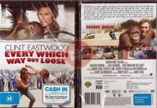 Every Which Way But Loose Clint Eastwood orangutan New (Region 4 Australia)