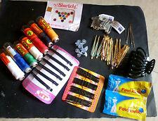 Utilisation quotidienne combo différents handy objets de l'inde pin, fil, pousser, clip,...