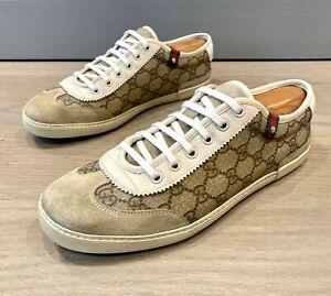 Gucci Men's GG Plus Sneakers Sz 7 G =  US 8 *Authentic*