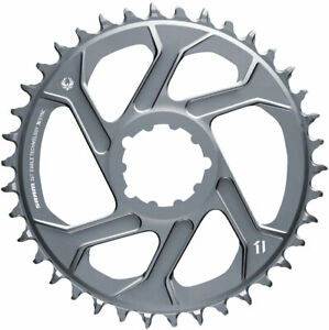 SRAM 36T X-Sync 2 Direct Mount Eagle Chainring 3mm Boost Offset Polar Gray