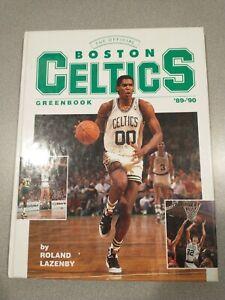 1989-90 Boston Celtics Greenbook By Roland Lazenby - Robert Parish - Good