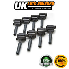 8X FOR JAGUAR XK8 X100 4.0 PETROL (1996-02) IGNITION COIL PACKS PACK PENCIL SET