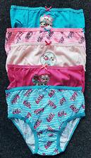 5  Pack LOL Suprise Girls Briefs Knickers Underwear 5-10 Yrs