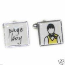 Ceramic Wedding Page Boy Cufflinks