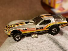 VINTAGE 1977 HOT WHEELS TOM McEWEN MONGOOSE CORVETTE FUNNY CAR ENGLISH LEATHER