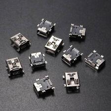 10Pcs Mini USB Female 5Pin B Socket 4 Legs SMT SMD Soldering Connector Port VP