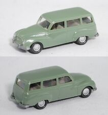 Wiking 123 Auto Union 1000 Universal (Typ Modell 1960) resedagrün 1:87