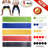 For Resistance Loop Bands Set Strength fitness Gym exercise Yoga workout Pull Up