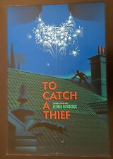 """""""TO CATCH A THIEF"""" LAURENT DURIEUX ARTIST SIGNED(!) FOIL SCREEN PRINT $140 OBO!!"""