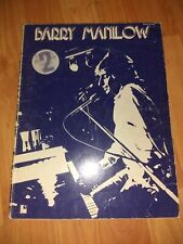Vintage Barry Manilow Sheet Music Song Book Piano Vocal 2 Hit Albums 1975