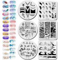 BORN PRETTY Nail Art Stamp Template Image Polish Stamping Plates Manicure Salon