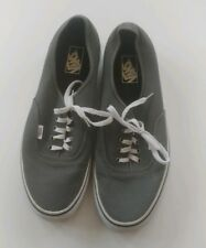 969f5233cf1 Vans Off The Wall Gray Sneakers Runners Kicks Skate Shoes Male Size 13 US