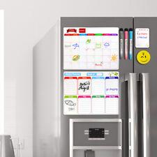Magnetic Dry Erase Whiteboard Calendar For Fridge Monthly Amp Weekly Planner