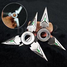 2X/Set Hand Spinner EDC Metal Bearing Fidget Toy Genji Shuriken Ninja Toys Slive