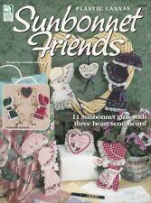Sunbonnet Friends Plastic Canvas Oop Patterns Valentine Christmas Birthday Rare