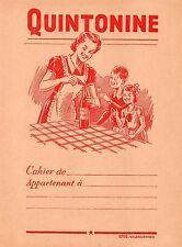 PROTEGE CAHIER SUPERBE + QUINTONINE = bon vin fortifiant + EFGÉ Valenciennes