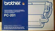Cartucho negro de la cinta Brother Fax y 1 cinta Térmica Para Fax 1030 PC201 para..