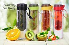 Steelo Plastic Fruit Infuser Bottle 750 ml  BPA FREE Free Shipping