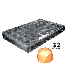 GEOMETRIC TRUFFLE - POLYCARBONATE CHOCOLATE MOLD #PPS3