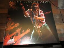 KENNY LOGGINS ALIVE-2 LP-NM-COLUMBIA-PICTURE GATEFOLD-INNER PICTURE SLEEVES NM-