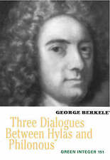 Three Dialogues Between Hylas and Philonous (Green Integer) by Berkeley, George