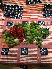 Vintage Plastic Grapes