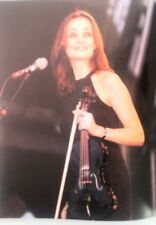 More details for the corrs 'violin bow magazine photo/poster/clipping 11x8 inches