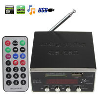 Digital Audio Power Amplifier Home Hi-Fi Stereo MP3 Player Support SD USB MMC