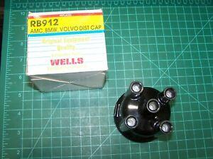 WELLS RB912 Distributor Cap fits AMC, BMW, Volvo, Alfa Romeo, Saab