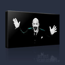 CHARLES BRONSON TOM HARDY AMUSING CLOWN FACE ICONIC CANVAS ART PRINT ArtWilliams