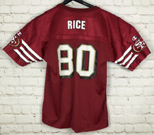 VINTAGE Champion Jerry Rice San Francisco 49ers Jersey Youth Extra Large XL 90s