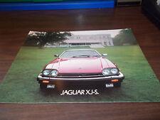 1984 Jaguar XJ-S Deluxe Sales Catalog