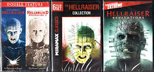 Hellraiser DVD Complete Collection 1-9 Movies set Hellbound Lot Show TV Series R