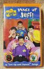 THE WIGGLES WAKE UP JEFF Children's Vhs Video Tape Lyrick Studios 15 Songs Music
