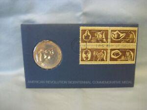 1972 George Washington American Revolution Bicentennial Commemorative Medal Unc.