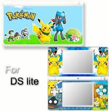 Pokemon SKIN DECAL COVER STICKER for Nintendo DS lite 2