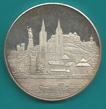 Wunderschöne Silbermedaille-vom Rheingau-986 Silber-30 Gramm-bankfrisch-