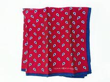 Tommy Hilfiger Handkerchiefs Men/'s Designer Silk Pocket Square