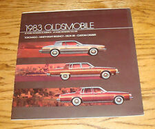 Original 1983 Oldsmobile Toronado Ninety Eight Delta 88 Cruiser Sales Brochure