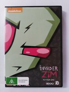 Invader Zim Season 1 DVD contains disc 3 and 4 of season 1