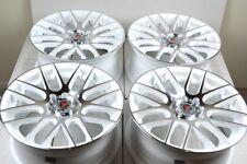 15 white wheels Rio Cabrio Forenza Corolla Civic Del Sol Aveo 4x100 4x114.3 Rims