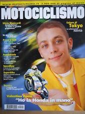MOTOCICLISMO n°12 2001 BMW F 650 Cagiva XTRA Raptor 1000 Yamaha TDM 900 [P34]